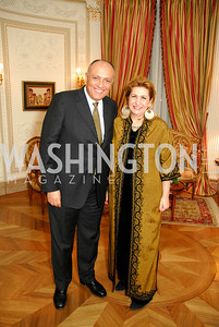 Sameh Shoukry,Suzy Shoukry,March 4,2011,Embassy Series at the Residence of the Egyptian Ambassador,Kyle Samperton