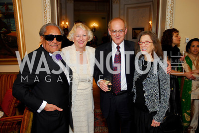 Harmanjit Bhar,Janice Bhar,Ian Portnoy,Judy Portnoy,March 4,2011,Embassy Series at the Residence of the Egyptian Ambassador,Kyle Samperton