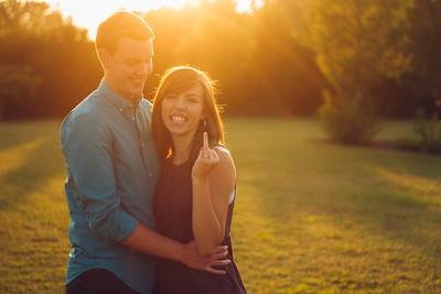 Emily & Zack. Engaged