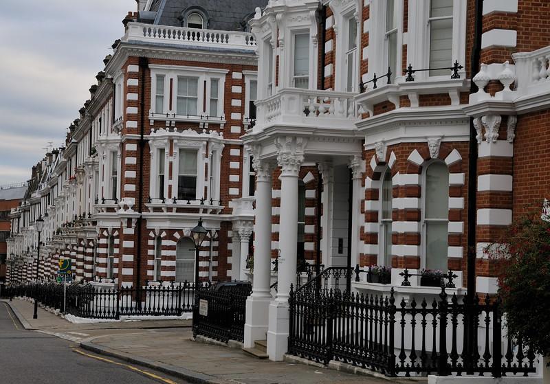 Holland Park flats - London, England