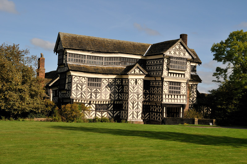 Little Moreton Hall - Cheshire, England