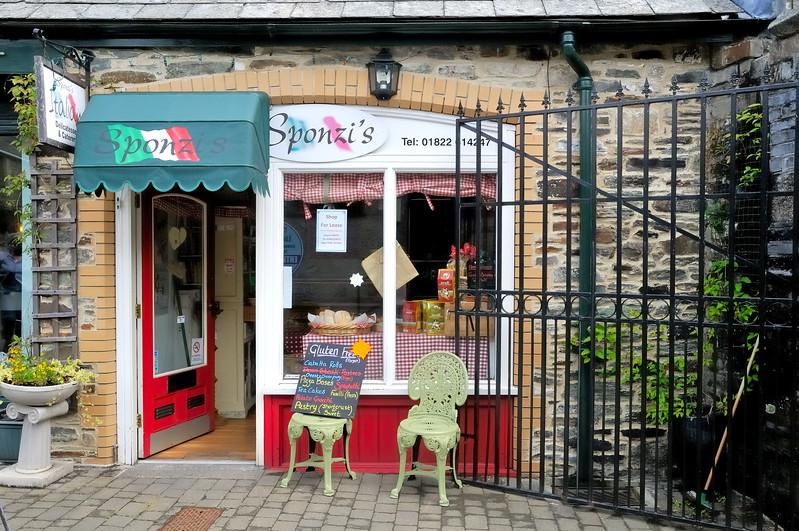 Cafe - Tavistock, England