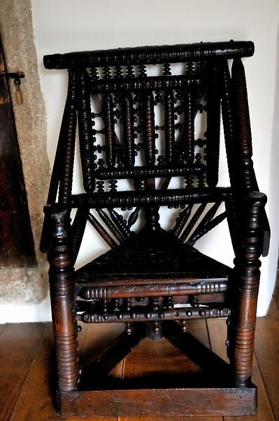 Cotehele chair - Cornwall, England