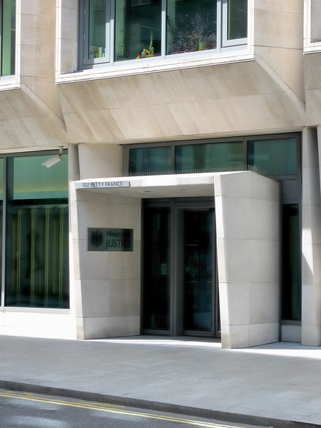 Petty France - Ministry of Justice - London, England