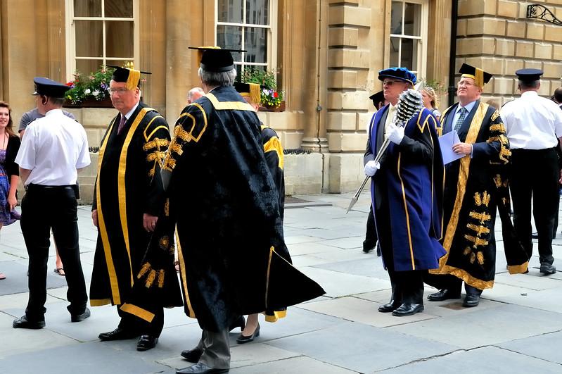 Processional - Bath University - Bath, England