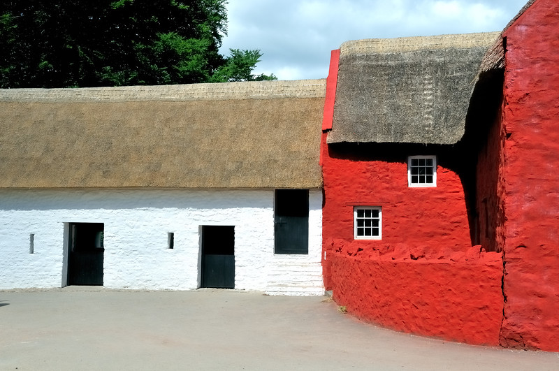 Farmhouse - Museum of Welsh Life- Cardiff, Wales