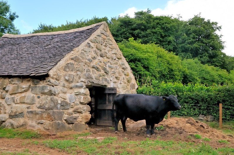 Barn - Museum of Welsh Life - Cardiff, Wales