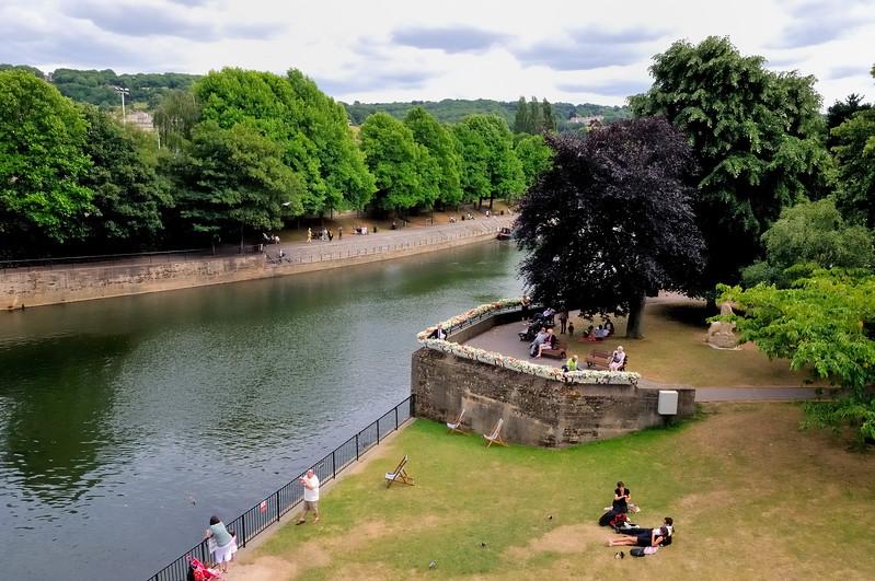 City park - Bath, England