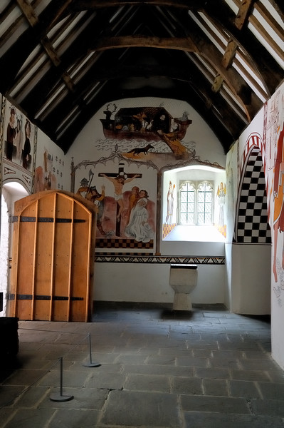 11th century Welsh church - Museum of Welsh Life - Cardiff, Wales