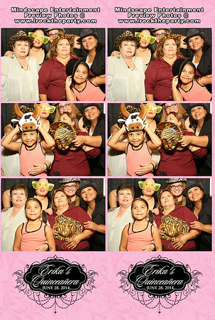 Erika Valenzuela's Quinceanera - Photo Booth Pictures
