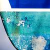 Erosion patterns on hulls of yachts, Antigua Slipway, English Harbour, Antigua
