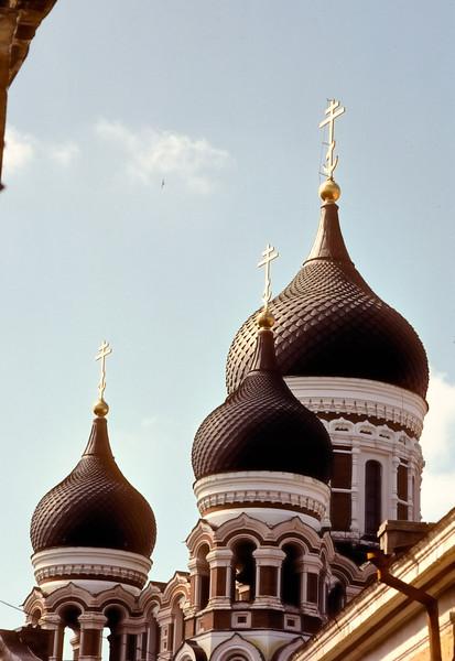 Alexander Nevsky Cathedral   Tallinn, Estonia
