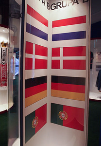 Euro 2012 football exhibition in Warsaw. Photo: Martin Bager.