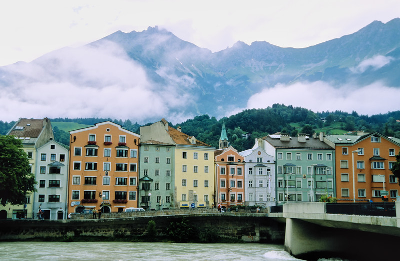 Along the Inns River - Innsbruck, Austria