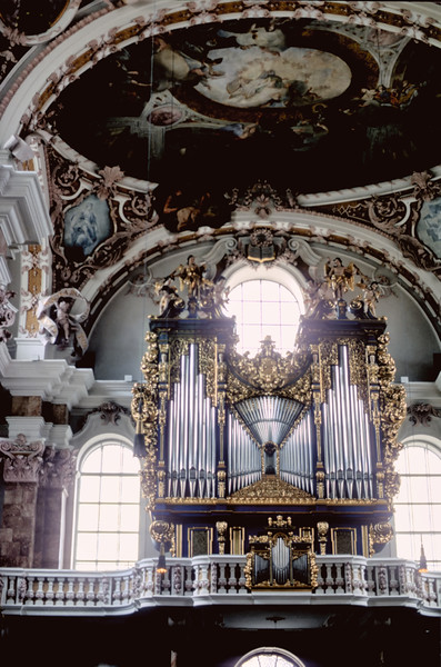 Pipe organ array -  Dom St. Jacob - Innsbruck, Austria