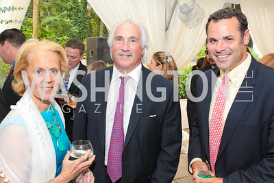 Edith McBean, Steve Gardner, Caleb McClennen. Photo by Alfredo Flores. Evening of Exploration. National Geographic Society. June 23, 2011