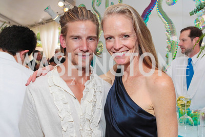 Jeff Garner, Suzy Amis Cameron. Photo by Alfredo Flores. Evening of Exploration. National Geographic Society. June 23, 2011