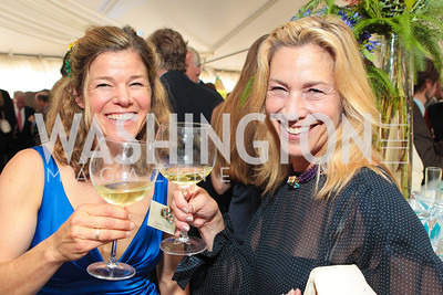 Tierny Thys, Joy Sterling. Photo by Alfredo Flores. Evening of Exploration. National Geographic Society. June 23, 2011