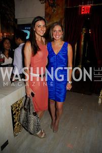 Kate Michel,Andrea Szempruch,Events DC Launch Event At SAX Restaurant,June 22,2011,Kyle Samperton