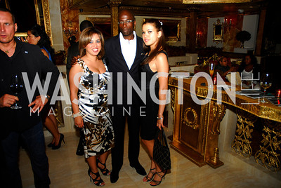 Gina Darouni,Erroll Lawrence,Athena Romaine,Events DC Launch Event At SAX Restaurant,June 22,2011,Kyle Samperton