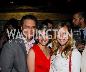 Sean Tuffnell,Rebecca Gibson,Kiki Ryan,Events DC Launch Event At SAX Restaurant,June 22,2011,Kyle Samperton