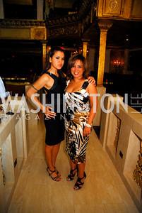 Athena Romaine,Gina Darouni,Events DC Launch Event At SAX Restaurant,June 22,2011,Kyle Samperton