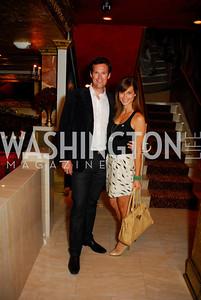 Fletcher Gill,Lindsay Kin,Events DC Launch Event At SAX Restaurant,June 22,2011,Kyle Samperton