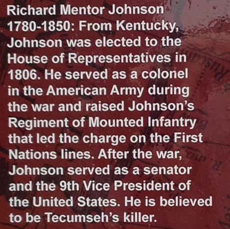 Detail concerning Richard Johnson.