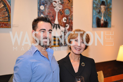 Kreg Kelley and Donna Evers Evers & Co. Art Exhibition, November 17, photo by Ben Droz