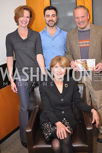 Andrea Barnes, Kreg Kelley, Bill Jonas, Donna Evers Evers & Co. Art Exhibition, November 17, photo by Ben Droz