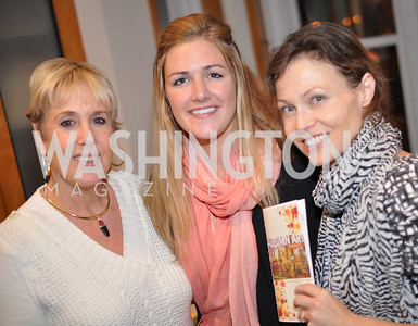 Bonnie Roberts-Burke, Maggie Coakley, Catarina Bannier Evers & Co. Art Exhibition, November 17, photo by Ben Droz