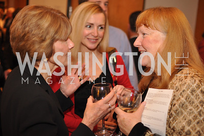 Donna Evers, Patricia Kennedy, Michele Arnaud Evers & Co. Art Exhibition, November 17, photo by Ben Droz