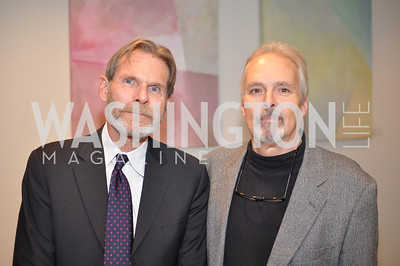 John Nemeyer, David Burke Evers & Co. Art Exhibition, November 17, photo by Ben Droz