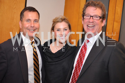Dave Jacobin, Annie Stone, Tim Mullin Evers & Co. Art Exhibition, November 17, photo by Ben Droz