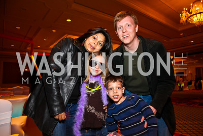 Sonal, Meera, Niall, and Patrick Doran. Every Kid's a Rock Star. Photo by Tony Powell. Ritz Carlton Tysons. February 27, 2011