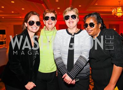 Kate Paulson, Betsey Snow, Judy Bilicki, Lucilla Gordon Smith. Every Kid's a Rock Star. Photo by Tony Powell. Ritz Carlton Tysons. February 27, 2011