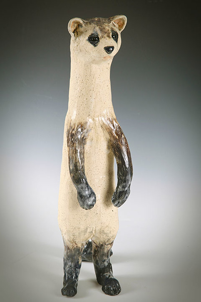 sn 796. Black-footed Ferret.  $400.