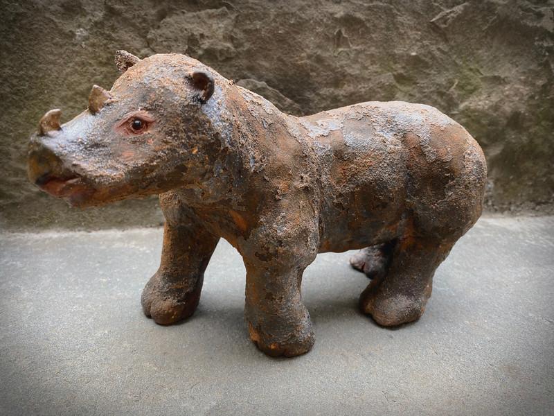 sn.774. Sumatran Rhinoceros.