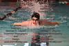 FHS's Meghan Quaid swims the butterfly stroke in the girls 200 yard IM.