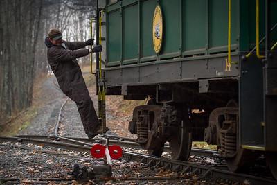 Whittaker Train Conductor Darren Seldomridge