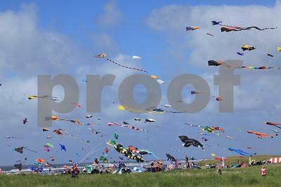 The world class annual kite festival in Long Beach, Washington State.