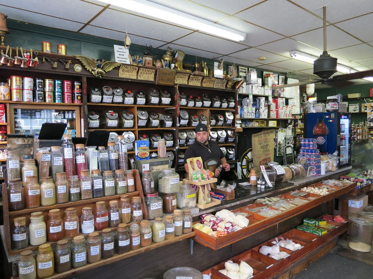 Market in Boston's North End