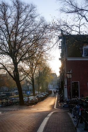 Morning Walk in Amsterdam