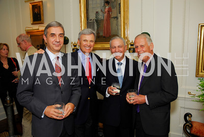 Nuno Brito, Stuart Bernstein, Aziz Mekouar, Lloyd Cutler, Farewell to the Mekouars, September 6, 2011, Kyle Samperton