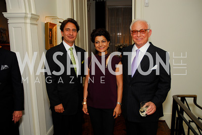Said Jawad, Shamin Jawad, John Mason, Farewell to the Mekouars, September 6, 2011, Kyle Samperton