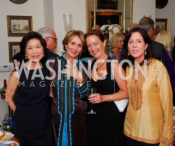Chan Heng Chee,Maria Felice Mekouar,Dietlinde Maazel,Christina Burrelli, Farewell to the Mekouars, September 6, 2011, Kyle Samperton
