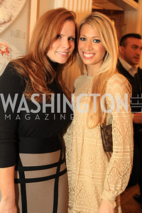 Amanda Polk, Courtney Caldwell. Fashion Takes Flight 2011 - A Night to Benefit Luke's Wings at The Adams Morgan Mansion. Photo by Alfredo Flores. January 28, 2011.