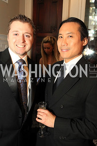 Charles Paret, Wilson Chang. Fashion Takes Flight 2011 - A Night to Benefit Luke's Wings at The Adams Morgan Mansion. Photo by Alfredo Flores. January 28, 2011.