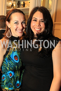 Taryn Fielder, Lilly Harris. Fashion Takes Flight 2011 - A Night to Benefit Luke's Wings at The Adams Morgan Mansion. Photo by Alfredo Flores. January 28, 2011.