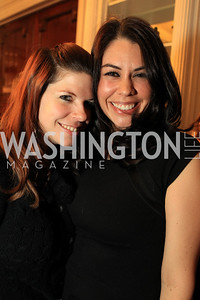 Amanda Colette Deatherage, Lilly Harris. Fashion Takes Flight 2011 - A Night to Benefit Luke's Wings at The Adams Morgan Mansion. Photo by Alfredo Flores. January 28, 2011.